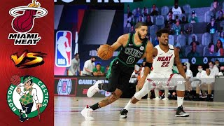 Boston Celtics vs Miami Heat Full Highlights 2nd QTR | Game 5 East Finals | NBA Playoff 2020