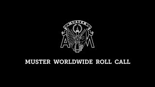 2019 Official Muster Worldwide Roll Call