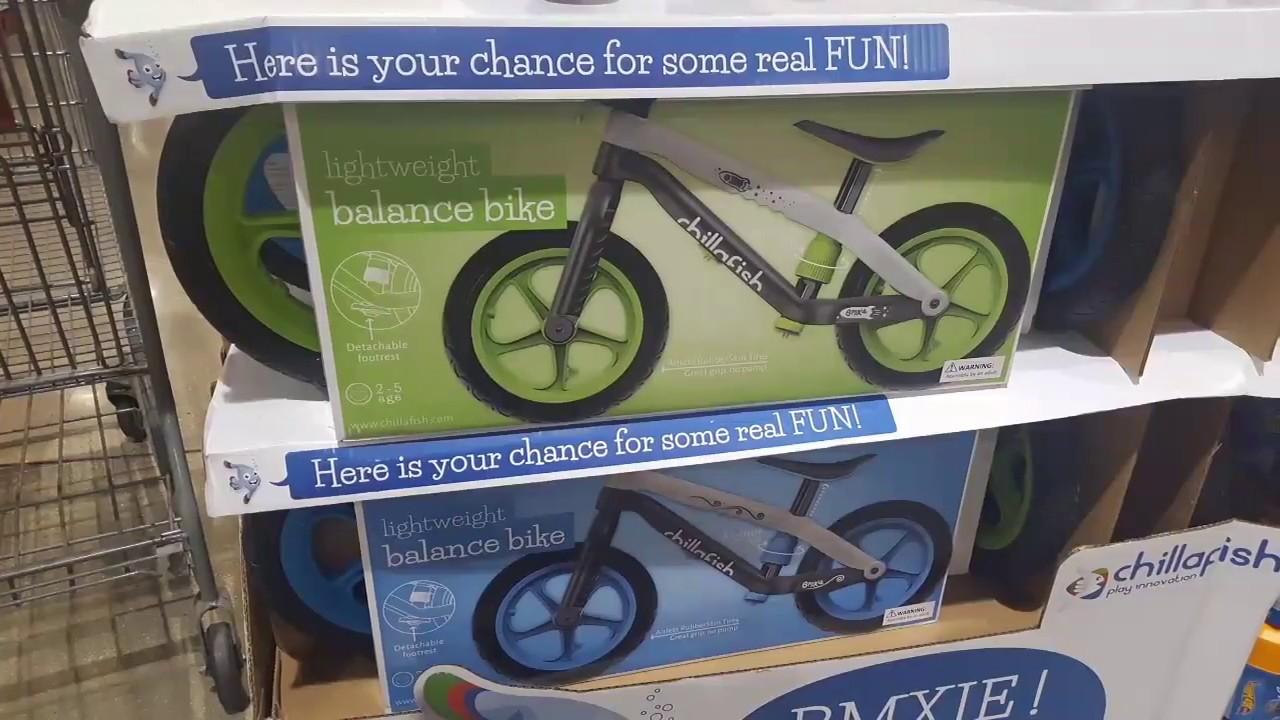 costco chillafish bmxie rs bmx balance bike  youtube