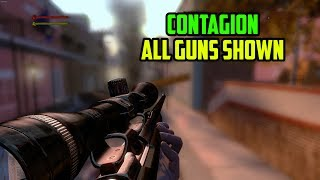 Contagion - All Guns Shown