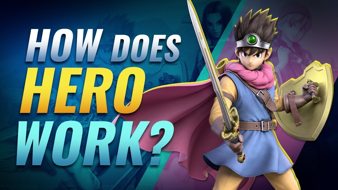 How Does Hero Work In Smash Ultimate Youtube