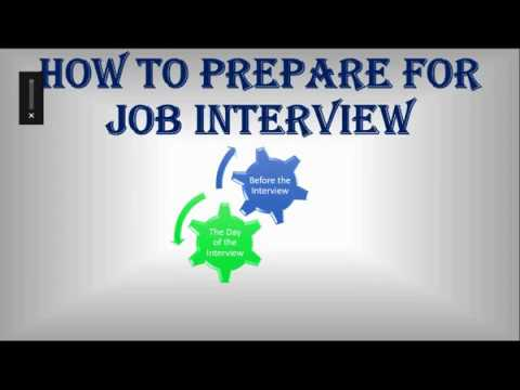 How to prepare for a job interview || by Training Video