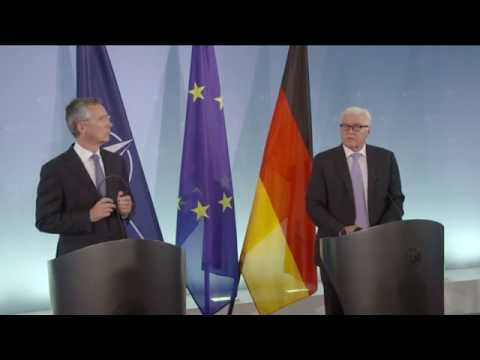 NATO Secretary General with Minister of Foreign Affairs of Germany, 02 SEP 2016
