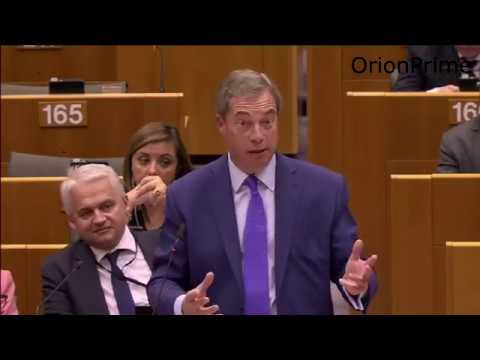 Nigel Farage At EU Parliament - Let Hungary Join The Brexit Club 26th April 2017
