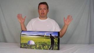 Custom Golf Mailbox -golfing Mailbox Www.mycustommailbox.com