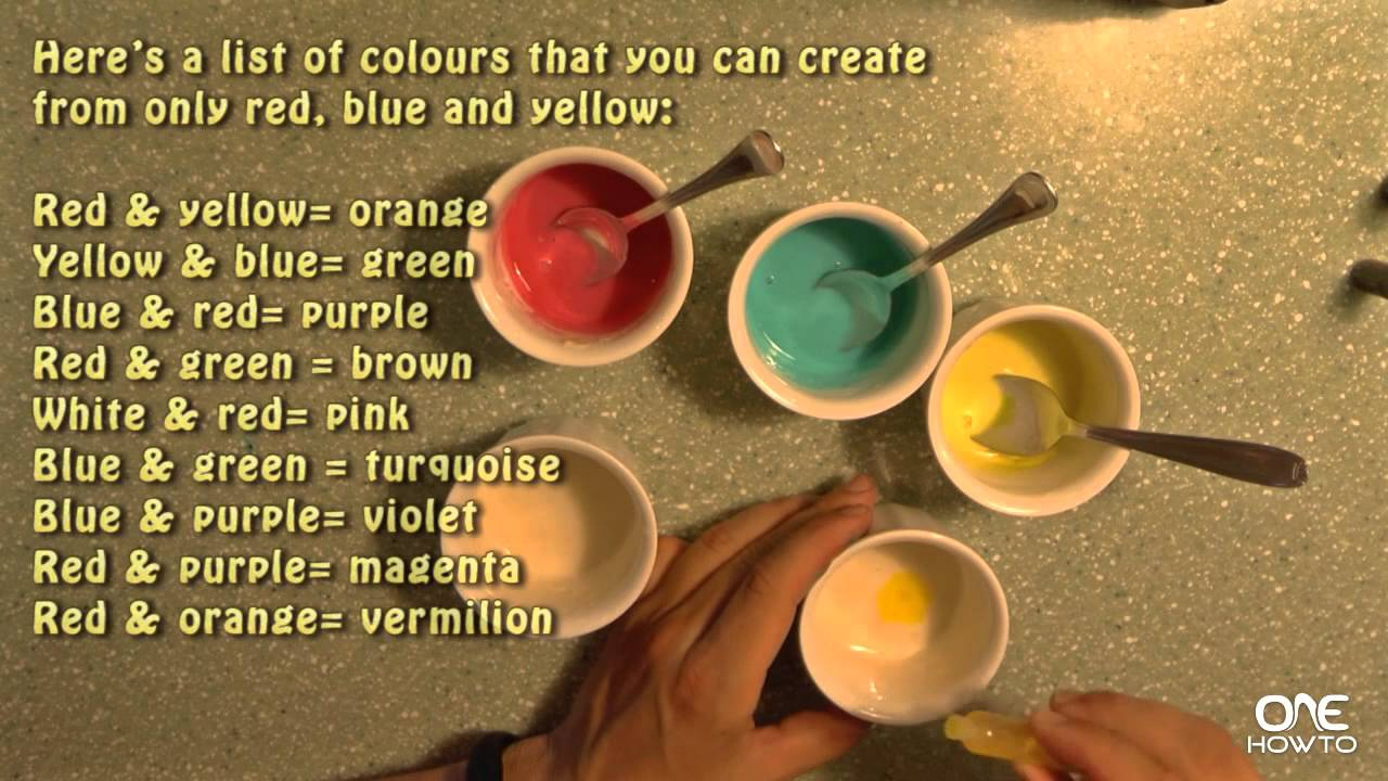 how to make paint at home easy tutorial youtube. Black Bedroom Furniture Sets. Home Design Ideas
