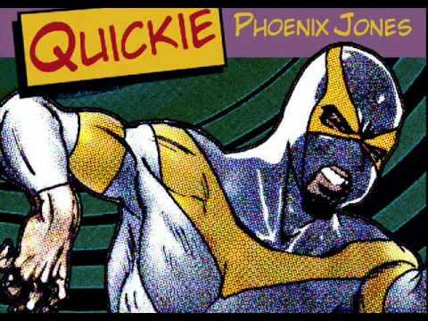 "Quickie ""Phoenix Jones"" Seattle Super Hero Theme Song"