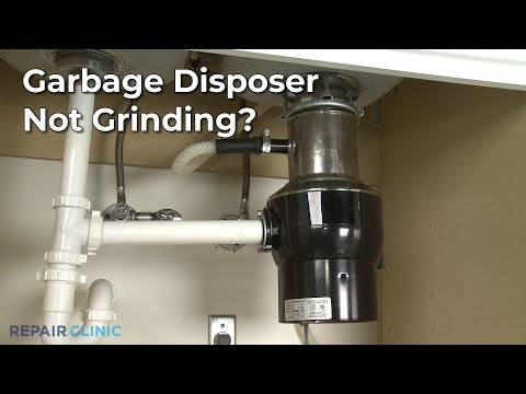 "Thumbnail for video ""Garbage Disposer Not Grinding? Garbage Disposer Troubleshooting """