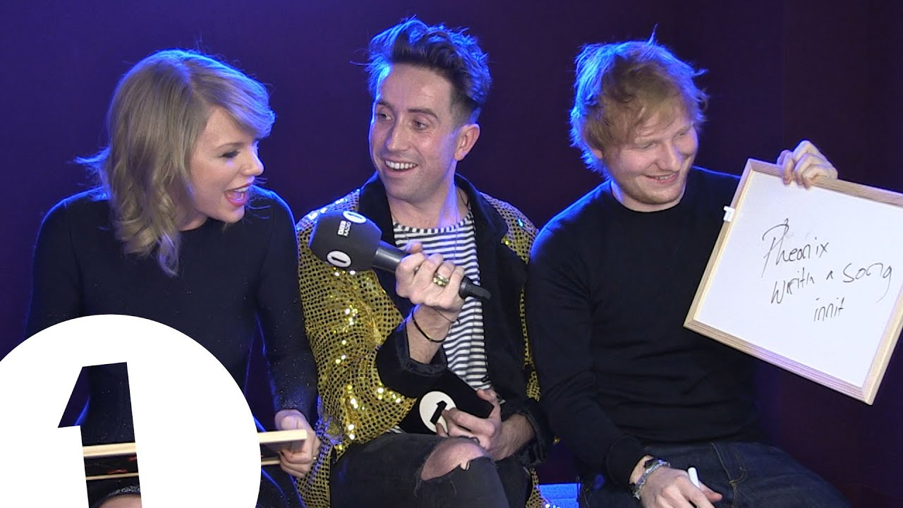Ed Sheeran And Taylor Swift Play Eds Or Taylz Youtube
