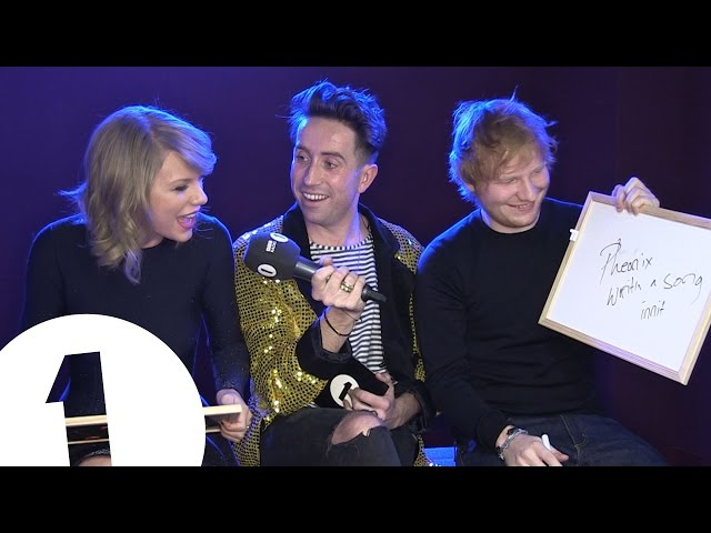 Ed Sheeran and Taylor Swift play Eds or Taylz?