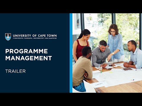 UCT Programme Management: A Monitoring and Evaluation Approach Online Short Course | Trailer