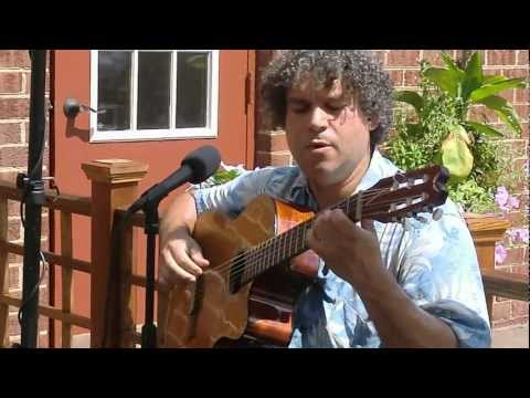 The Blue Danube performed by RobRiv at Salud Natural Organic Market 18 Aug 2012.avi
