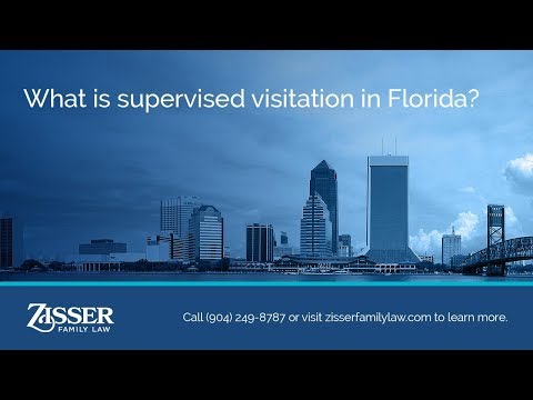 What is supervised visitation in Florida?