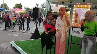Nabila Razali shows off her hijab-wearing styles at Gegaria Fest