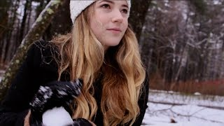 ❄️ ASMR Snowy Day in Concord, MA ❄️