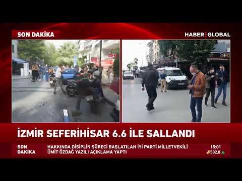 AFAD'dan Son Dakika Deprem Açıklaması! İzmir Seferihisar'da 6,6 Büyüklüğünde Deprem