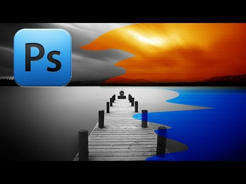 Photoshop - Замена белого/черного цвета (для новичков)