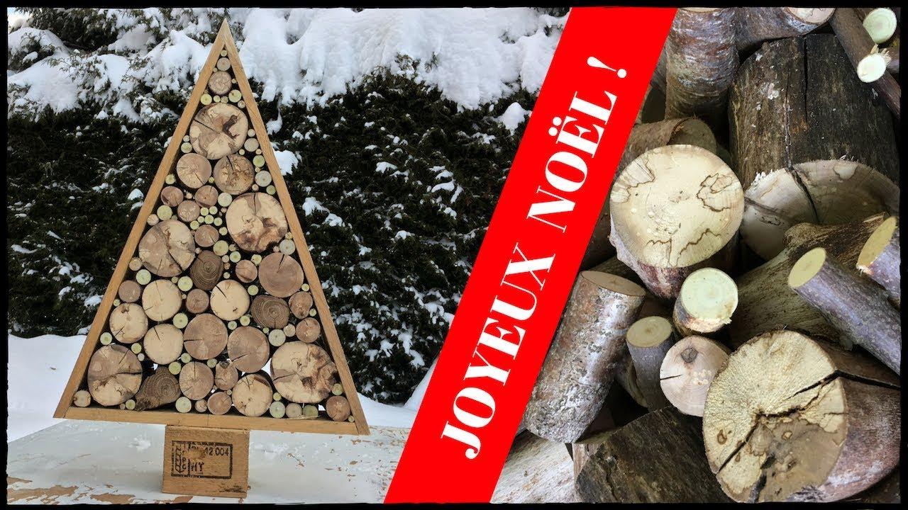 Nouveau comment fabriquer un sapin de no l avec du bois - Fabriquer un sapin de noel en bois de palette ...