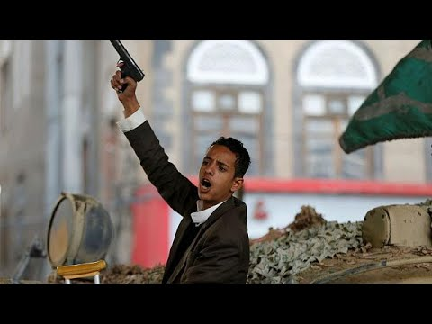 Yemeni Houthi rebels celebrate ex-president Saleh death
