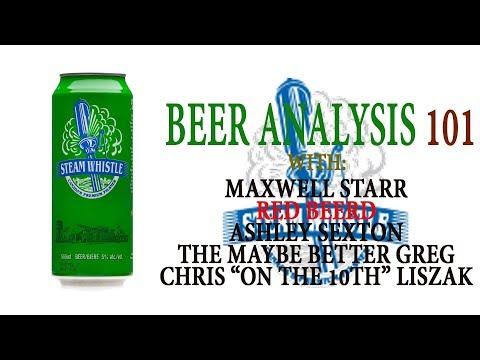 Beer Analysis 101: Steam Whistle Pilsner