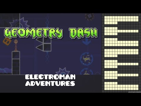 Geometry Dash - Electroman Adventures [Piano Cover]