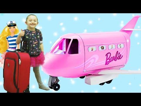 ÖYKÜ AMERİKA YOLCUSU Barbie Hava Yolları Jet Uçak Oyunu Comedy For Kids