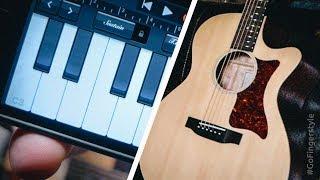 На гитаре, как на рояле (урок)