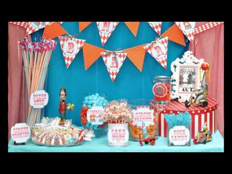 Best Carnival birthday party decorations ideas