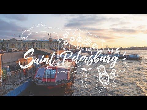 SAINT PETERSBURG | Russia | Cinematic Travel Film (4K)