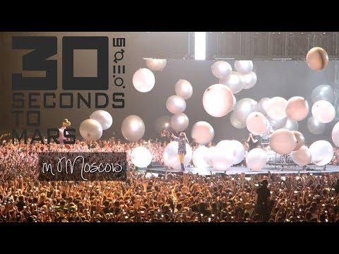 Life in Moscow. Thirty Seconds to Mars | 26.04.2018