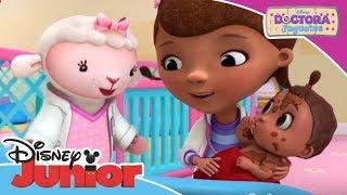 Doctora Juguetes: Momentos Mágicos - El baño del bebé   Disney Junior Oficial