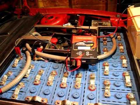 November 15, 2012 - CALB LiFePO4 Battery Bottom Re-Balancing