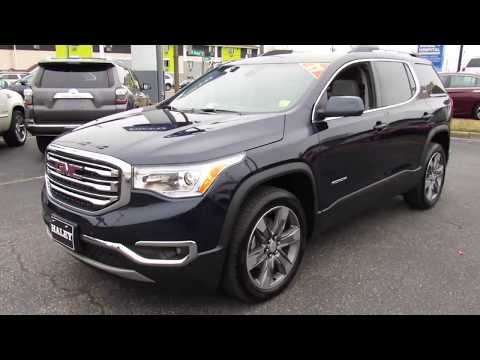 2017 GMC Acadia SLT Walkaround, Start up, Tour and Overview