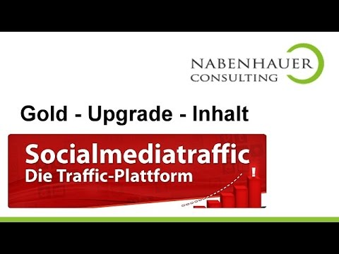 Website Traffic mit Social Media - Traffic über Social Media Plattformen - Info über Gold Upgrade