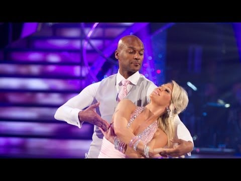 Colin Salmon & Kristina's Waltz to 'A Kiss From A Rose' - Strictly Come Dancing - Week 2 - BBC One