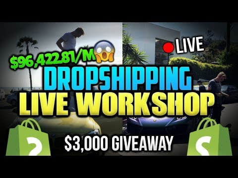 $96,422.81 in a SINGLE MONTH - LIVE Dropshipping WorkShop