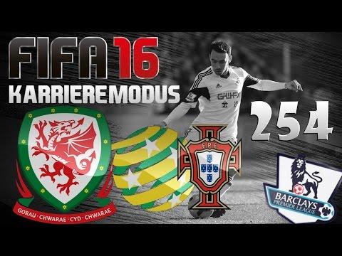 FIFA 16 Karrieremodus Part 254 [Wales | Länderspieldebut] Australien & Portugal