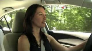 Honda Civic EX 2012 Test Drive & Car Review by RoadflyTV with Elizabeth Kreft