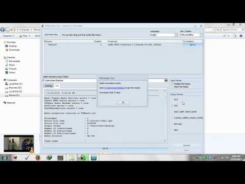 How to convert 2 channel MP3 Audio to 5 1 DTS AC3 Surround sound using simple software   YouTube