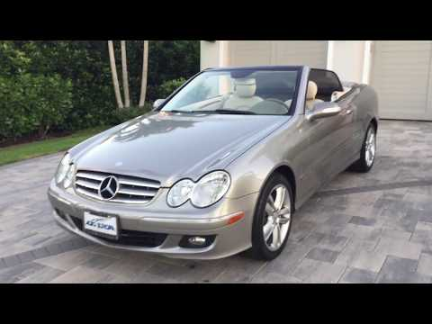 2006 Mercedes Benz CLK350 Cabriol Review and Test Drive by Bill Auto Europa Naples