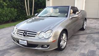 2006 Mercedes Benz CLK350 Cabriol Review and Test Drive by Bill Auto Europa Naples MercedesExpert co