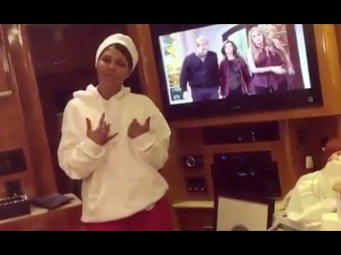 "Tony Braxton Turns Ganster After Birdman Wifes Her ""Call Me Gangsta T"""