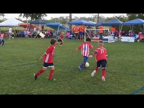 "Atletico Juniors u8 team- 3v3 Merritt Island challenge sports May 21,2017 ""full games"""