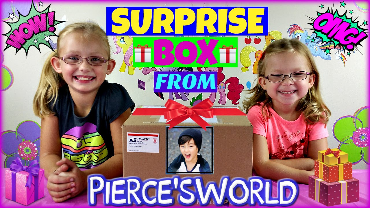 Surprise box opening magic box toys collector collaboration video surprise box opening magic box toys collector collaboration video with pierces world youtube ccuart
