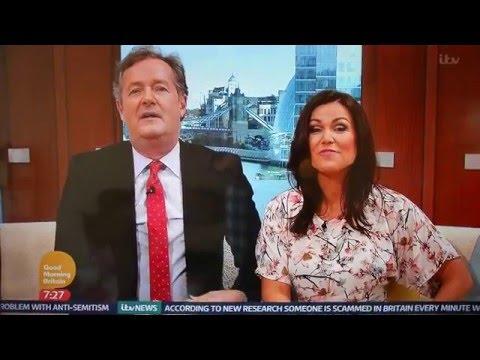 Piers Morgan on GMTV having a pop at Madonna
