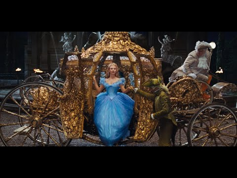 Disney's Cinderella Official US Trailer poster
