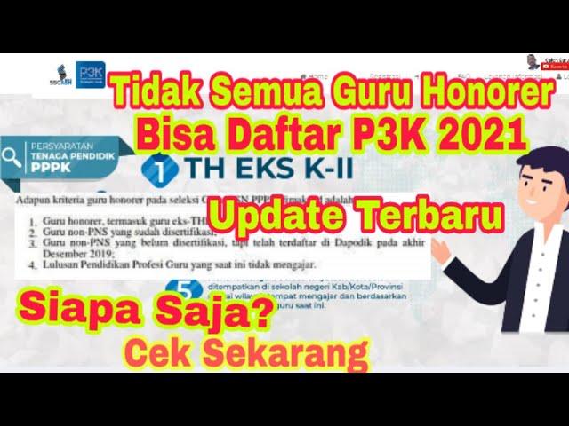 38++ Persyaratan p3k guru honorer 2021 ppdb 2021