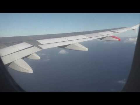 "Madeira to London Gatwick Airport""Full Flight"""
