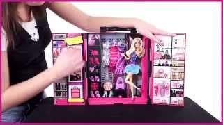 BARBIE X5357 Шкаф для модных нарядов с одеждой и аксессуарами (20 предметов) от магазина ДЕТКИ(, 2015-04-06T18:47:41.000Z)