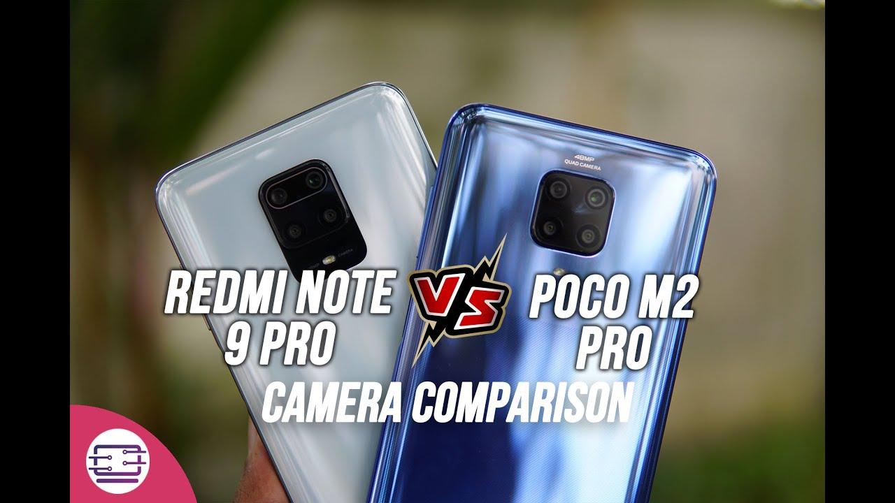 Poco M2 Pro vs Redmi Note 9 Pro Camera Comparison